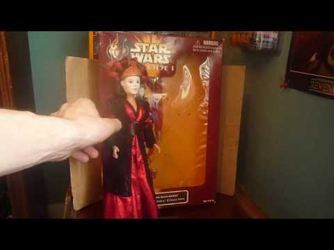 Star Wars Episode 1 Ultimate Hair Queen Amidala (Sabe) doll review