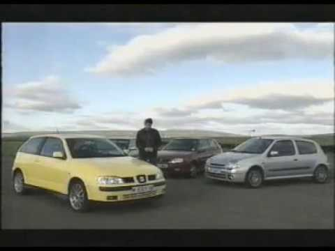 Old Top Gear -  Hot hatch mega test! inc Saxo VTS, Clio 172, 106 GTi