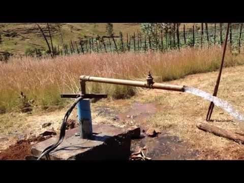 Water pump in HC