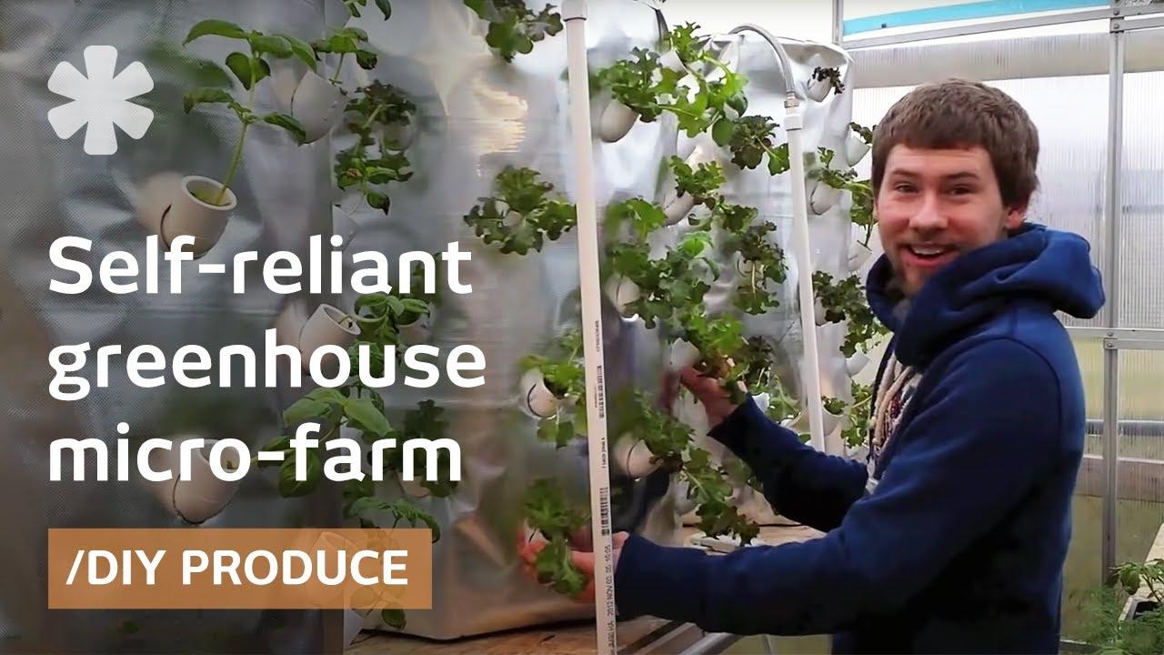 Backyard aeroponics: self-sustaining farm for Wisconsin ...