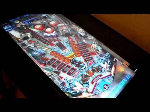 Visual Pinball Cabinet with 54 tables, budget build