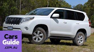 2014 Toyota LandCruiser Prado GXL diesel review streaming
