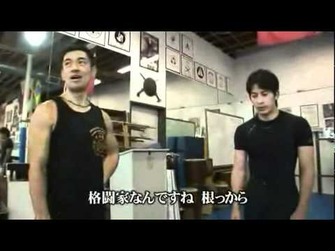 『SP』 _01 岡田准一氏 、中村頼永 師父 「カリ、修斗の練習風景」