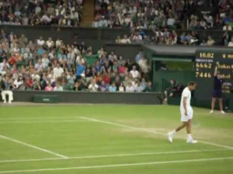 Rafael Nadal vs Lukas Rosol : Wimbledon 2012 Final Game p1