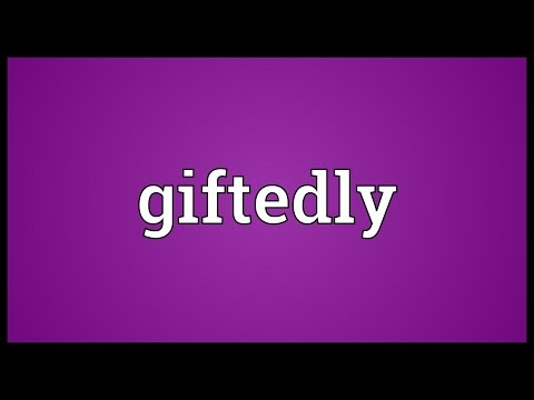 Header of giftedly