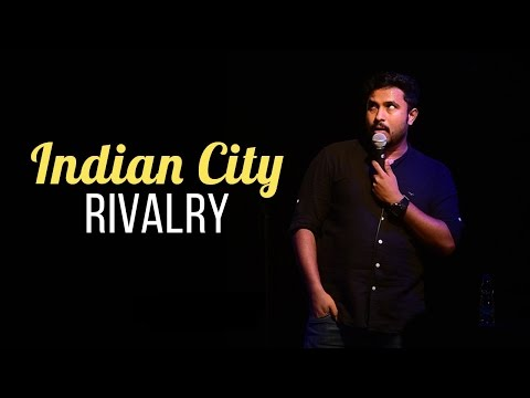 Abish Mathew | INDIAN CITY RIVALRY (Stand Up Comedy)