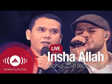 Maher Zain Feat. Fadly padi - Insha Allah video