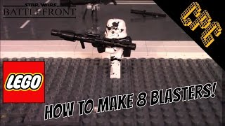 Easy Lego Star Wars Battlefront Blasters!