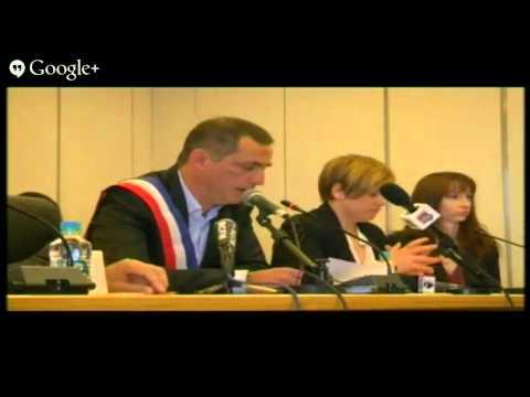 Investiture du nouveau maire de bastia