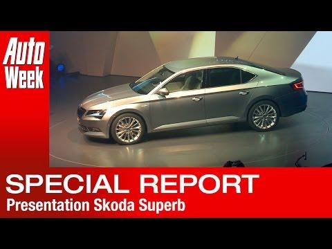 Skoda Superb 2015 Presentation