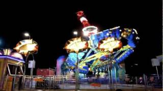 PEGASUS ride - SPACE STAR giostra. inversion ride ITALY