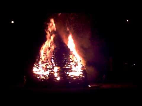 Grand feu - Groot vuur- Vresse-sur-Semois