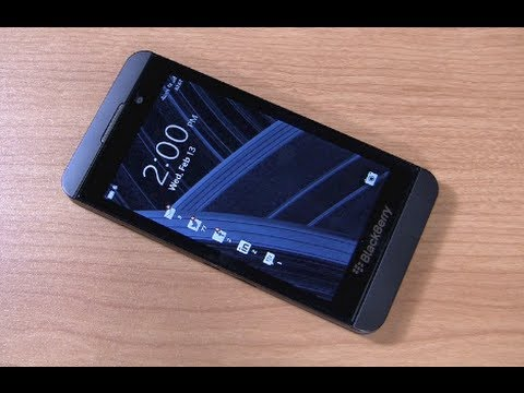 BlackBerry Z10 Review Part 1