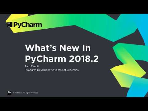 What's New in PyCharm 2018.2