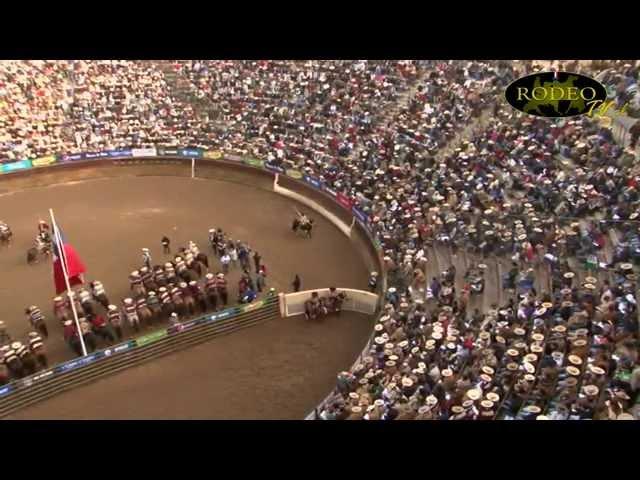 Campeonato Nacional de Rodeo Rancagua 2014 - 3er y 4to Animal Serie de Campeones