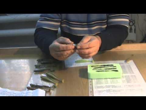 как сделать форму из силикона для рыбалки