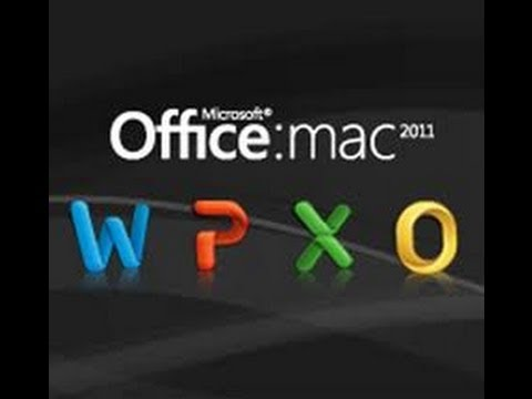 Como instalar Microsoft Office Mac 2011 | Word, PP, Excel y Outlook | Serial | HD