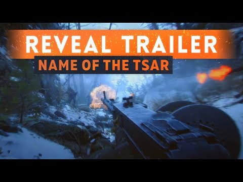 ► FIRST LOOK! - Battlefield 1 In The Name Of The Tsar DLC Trailer (Russian DLC)
