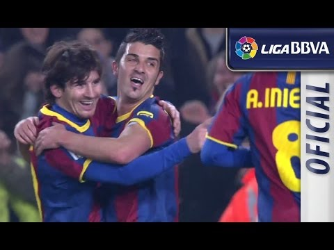 Highlights FC Barcelona (3-0) Atlético de Madrid 2010 - 2011 - HD