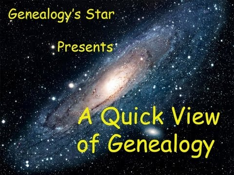 Genealogy's Star Quick Views on Sharing a Genealogy File with a GEDCOM File