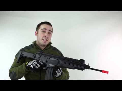 Beretta ARX160 Elite and Competition AEG - Airsoft Gun Review