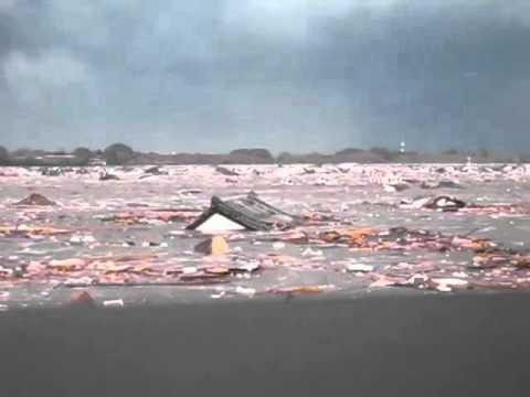Tsunami Of Japan Earthquake In Sendai 2011 3 11, With Eng Caption video