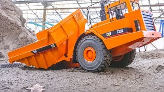 INCIDENT! Brand new RC Cat dump truck gets dirty for the first time!