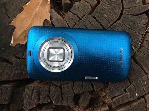 Samsung Galaxy K Zoom - 10х мощный камерафон - видео обзор