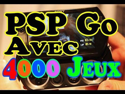 PSP Go avec 4000Jeux - Déballage - Présentation - Comparatif PS Vita/PSP/PSP Go'