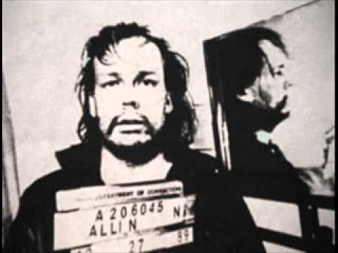 Gg Allin - No Rights