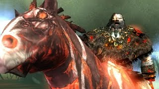 God of War 2: Barbarian King Boss Fight (4K 60fps)