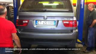 BMW X5 3000d. Manutenzione cambio automatico ZF