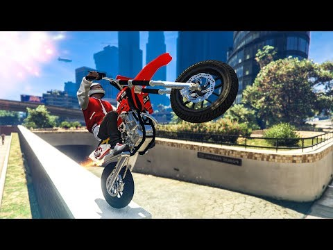 BEST OF GTA 5 STUNTS & FAILS! - (Funny Moments Compilation)