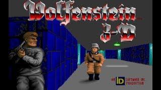 Wolfenstein 3D - Epizod 1 [2/2] - Escape from Castle Wolfenstein / RETRO GRANIE