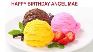 Angel Mae   Ice Cream & Helados y Nieves - Happy Birthday