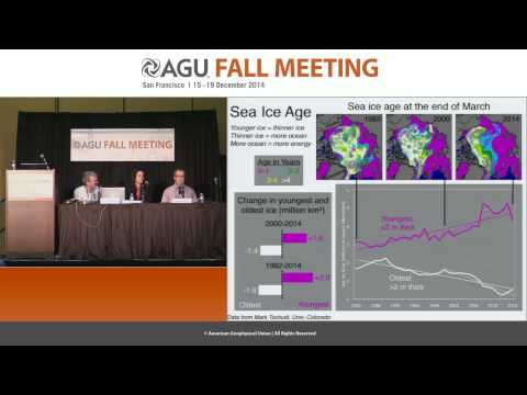FM14 Arctic heating 15 years of sea ice loss and absorbed solar radiation gains PressConference