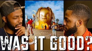 """TRAVIS SCOTT """"ASTROWORLD"""" REVIEW AND REACTION #MALLORYBROS 4K"""