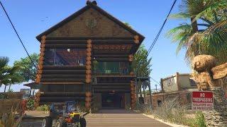 GTA 5 TREVORS NEW LOG HOUSE (GTA 5)