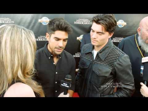 Hello Hollywood TV at Halloween Horror Nights Eyegore Awards 2014