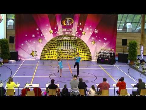 Franziska Peßler & Tobias Öttl - Süddeutsche Meisterschaft 2013