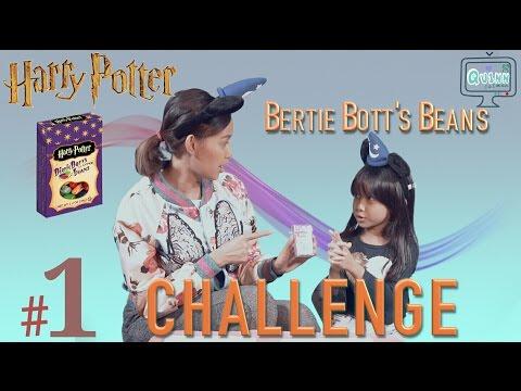 HARRY POTTER BERTIE BOTTS CHALLENGE - QUINN and IBU (PART 1)