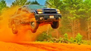 Chevy AVALANCHE JUMPING!