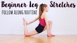 How to get Flexible Legs for Beginners