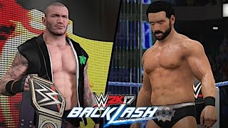 WWE Backlash 2017: Randy Orton vs. Jinder Mahal (WWE Championship)