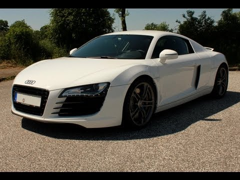 Audi R8 4.2 Fsi - Brutal Acceleration And Very Loud Sound And Revs !!! Hd video