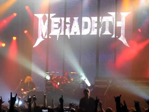 Megadeth - Dave Mustaine speech /
