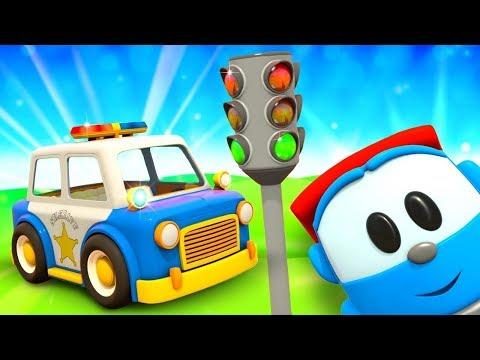 Грузовичок Лёва - машинки конструктор - Мультик для детей - Полицейская машинка