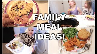 FAMILY MEAL IDEAS! | KIDS DINNER IDEAS! | KERRY CONWAY