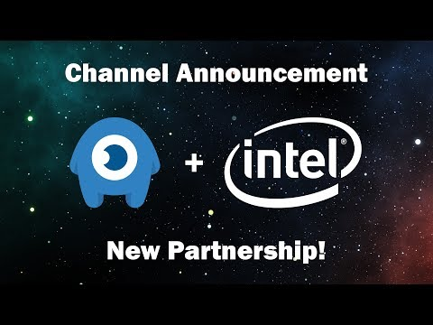 Announcing my Intel Partnership!