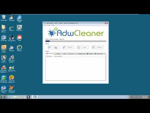 AdwCleaner Malware Removal Test